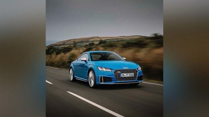 Audi «засвітила» оновлене спорткупе TTS