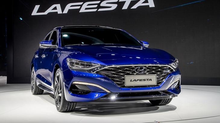 Hyundai представив новий седан Lafesta