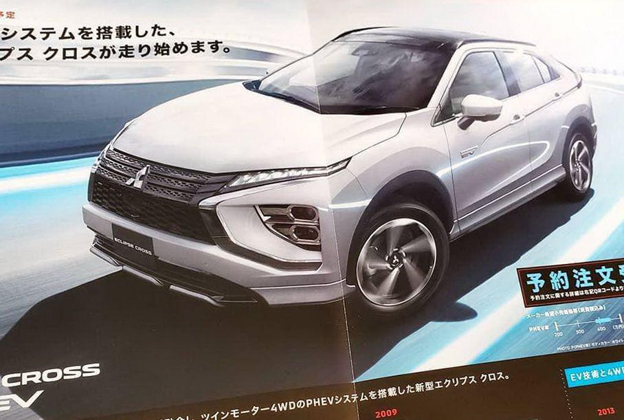 Зовнішність оновленого Mitsubishi Eclipse Cross розкрили до прем'єри
