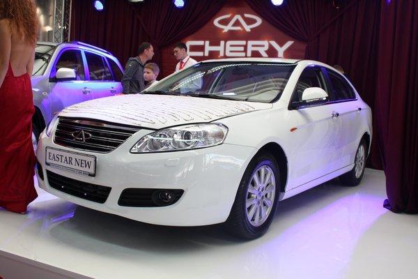 В Україні з'являться чотири нові «китайця» Chery