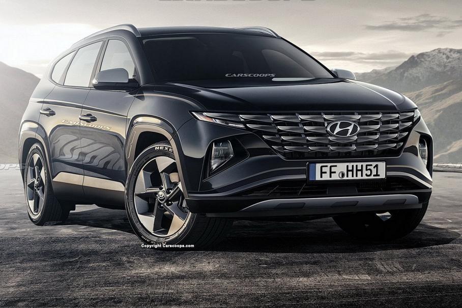 Інтер'єр нового Hyundai Tucson: перші зображення