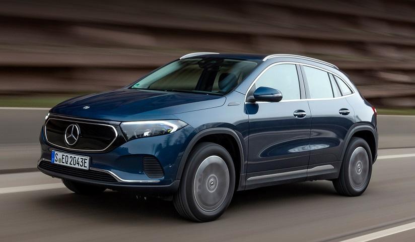 Електрокар Mercedes-Benz EQA отримав повний привід