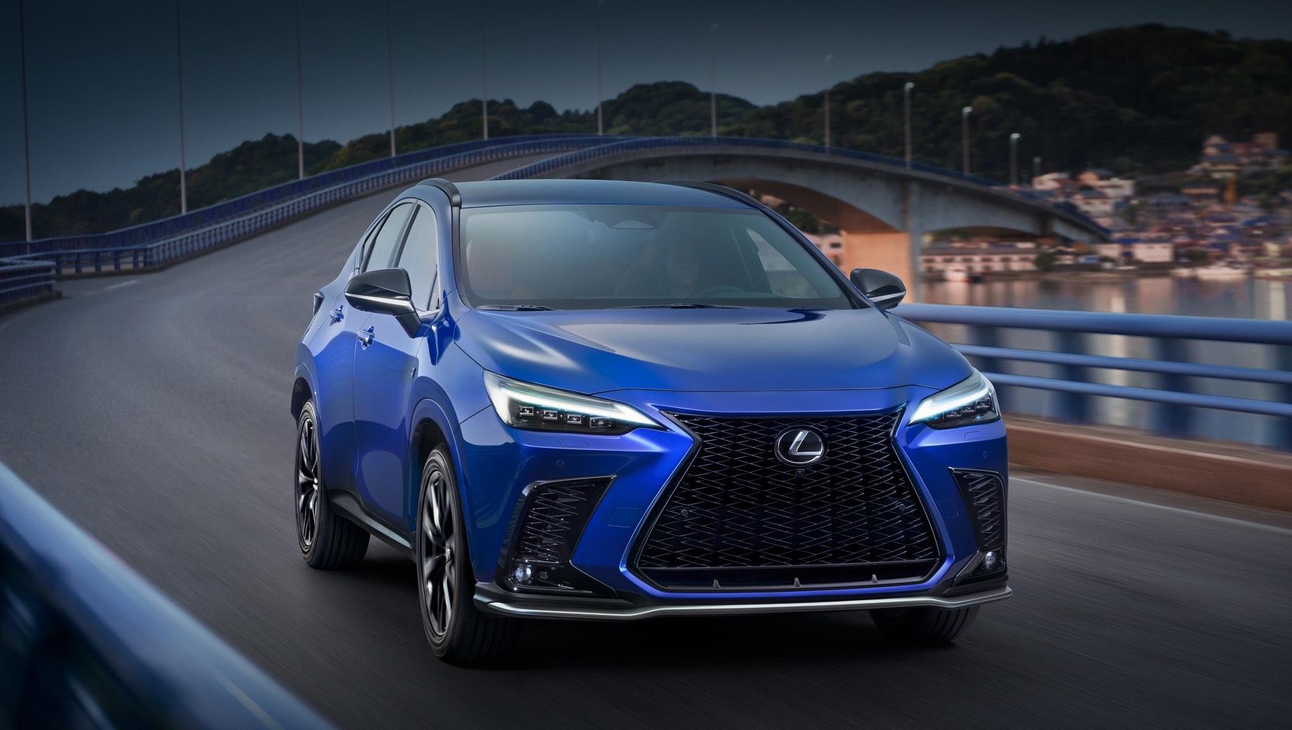 Lexus NX 2021: офіційне ВІДЕО