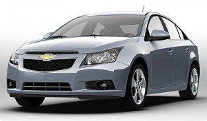 Компанія Chevrolet розробляє новий гібридний автомобіль на основі седана Cruze