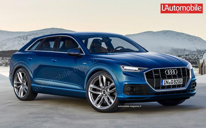 Audi Q8: перша інформація про кросовер