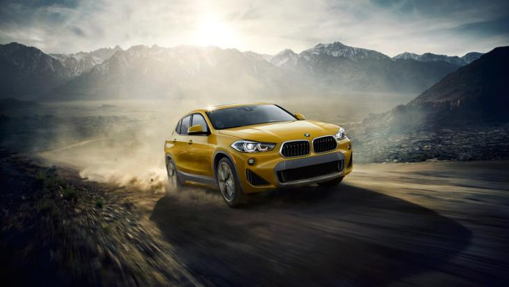 Кросовер BMW X2: оголошено перші ціни