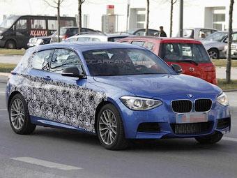 Фотошпигуни побачили нову найпотужнішу трехдверку BMW 1-Series