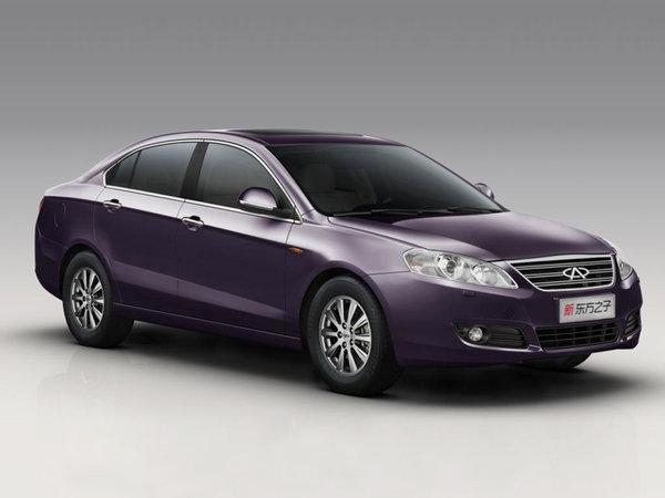 В Україну їдуть чотири нових автомобіля Chery