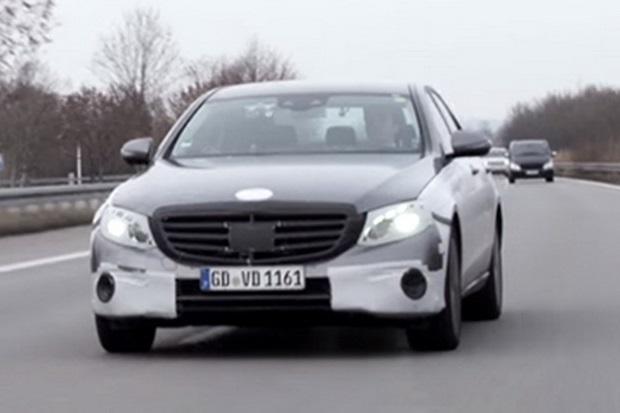 Mercedes E-Class 2016: перше відео нового автомобіля