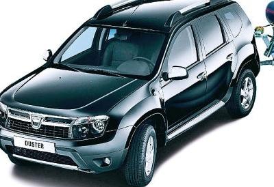 Кросовер Dacia Duster укомплектували ... яхтою