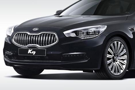 Компанія Kia розсекретила флагманський задньопривідний седан