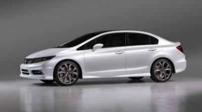 Honda Civic - дамський автомобіль 2012