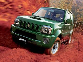 Позашляховик Suzuki Jimny оновився