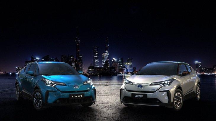 Toyota C-HR: новий електричний кросовер