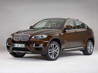 Оновлений BMW X6 отримав світлодіодні фари