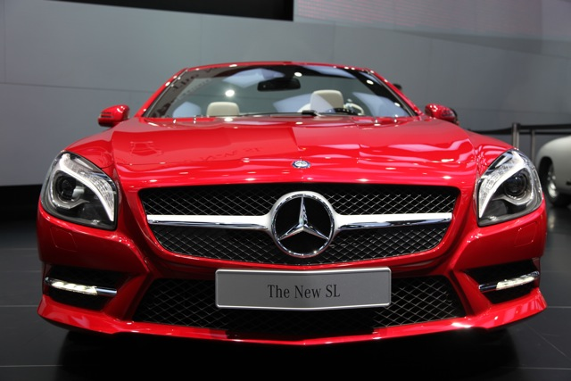 Mercedes на автошоу в Детройті: новий SL і E-class Hybrid