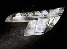 Opel випробовує інтелектуальну оптику на діодах