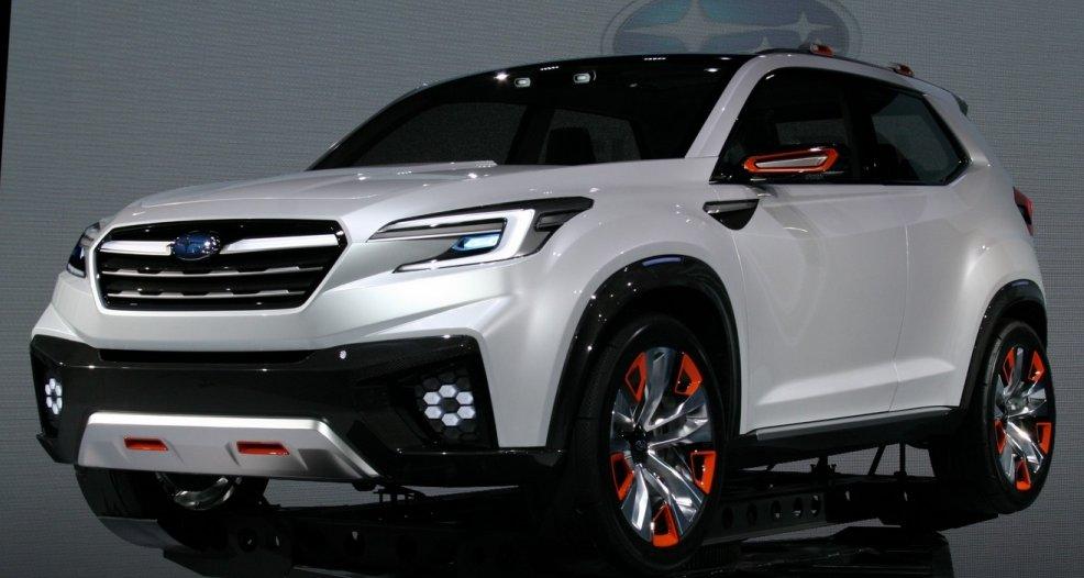 Subaru готує 7-місний кросовер