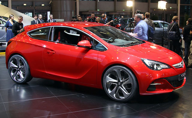 Новинки Opel Sia-2012