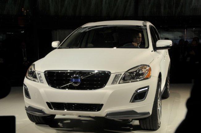 Автошоу в Детройті: Volvo XC60 Плагін Hybrid Concept