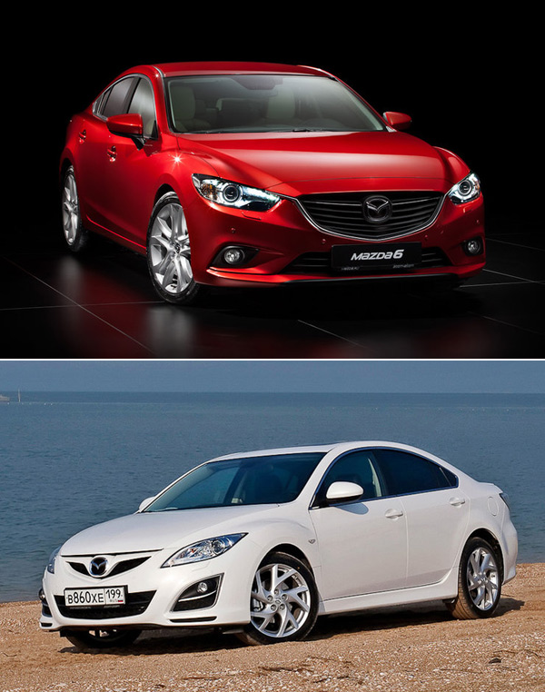Новая Mazda6 - російські ціни