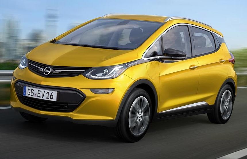 Названі офіційні ціни електрокара Opel Ampera-e