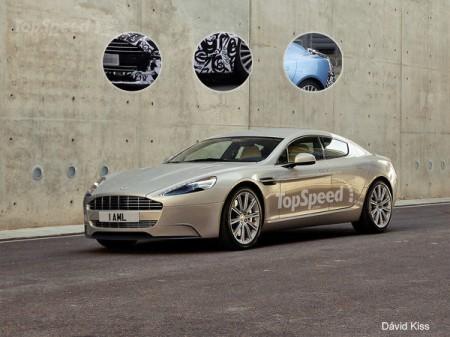 У мережі з'явився рендер Aston Martin Rapide S