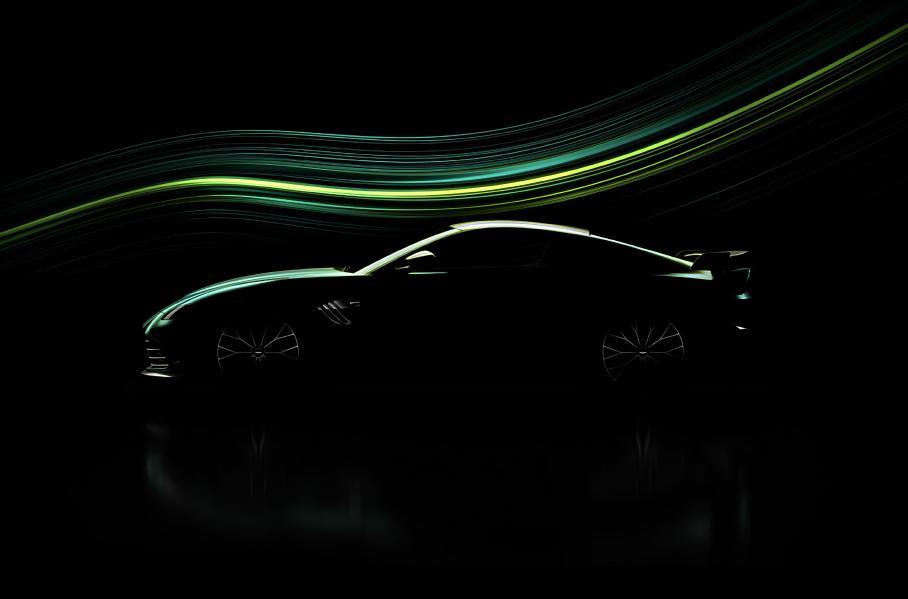 Офіційне фото надпотужної Aston Martin Vantage