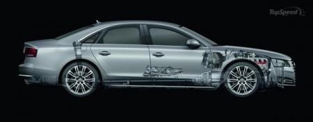 Audi відмовиться від восьмициліндрового двигуна у A8