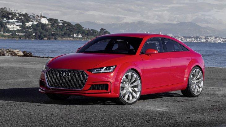 Audi хоче зробити зі спортивної ТТ чотирьохдверне купе