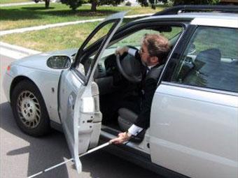 Створено автомобіль для незрячих