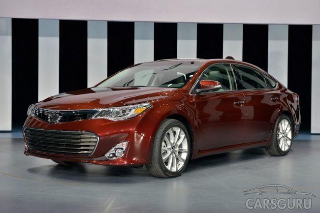 Toyota Avalon 2013 - відомі ціни
