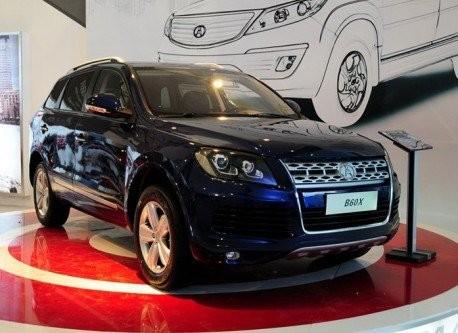 Китайці скопіювали Volkswagen Touareg