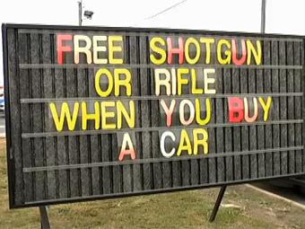 Купи Mitsubishi та отримай рушницю