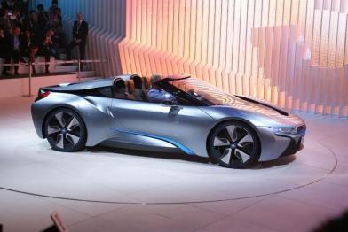 У Пекіні пройшла світова прем'єра BMW i8 Spyder