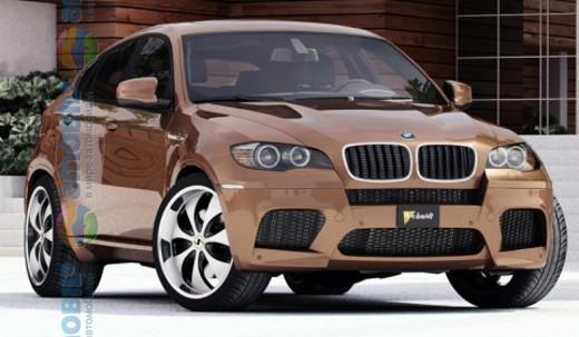 Schmidt Revolution показали фото дисків для BMW X6 і X6 M