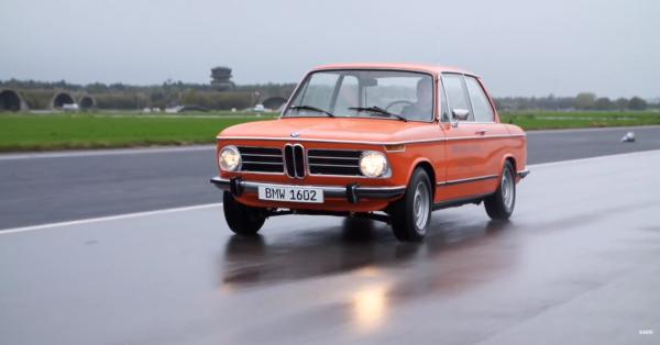 BMW показала свій перший електрокар (відео)