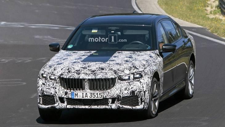 У мережу потрапили шпигунські фото нової BMW 7-ї серії