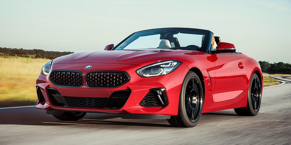 BMW представила новий родстер Z4