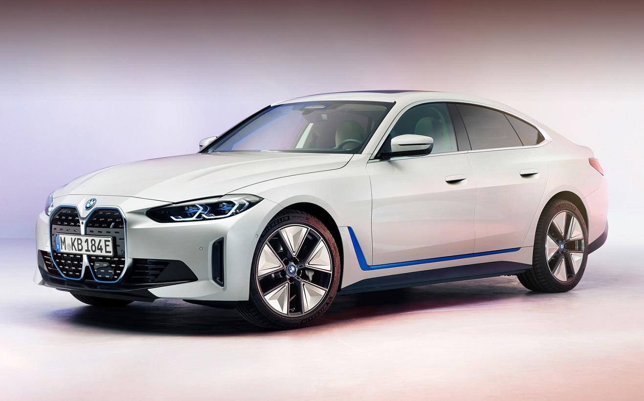 Електромобіль BMW i4: розкрито зовнішність і параметри