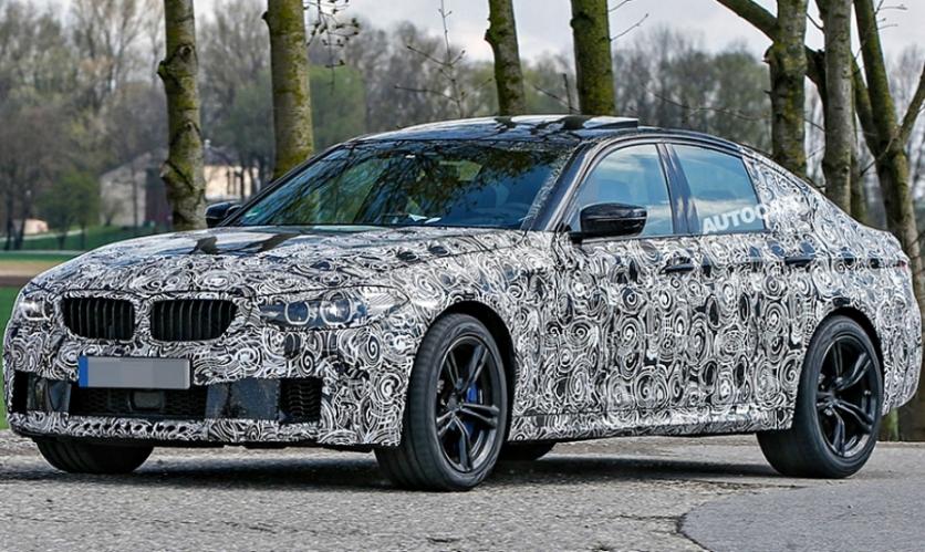 BMW тестує 5-Series 2018 року з потужними двигунами