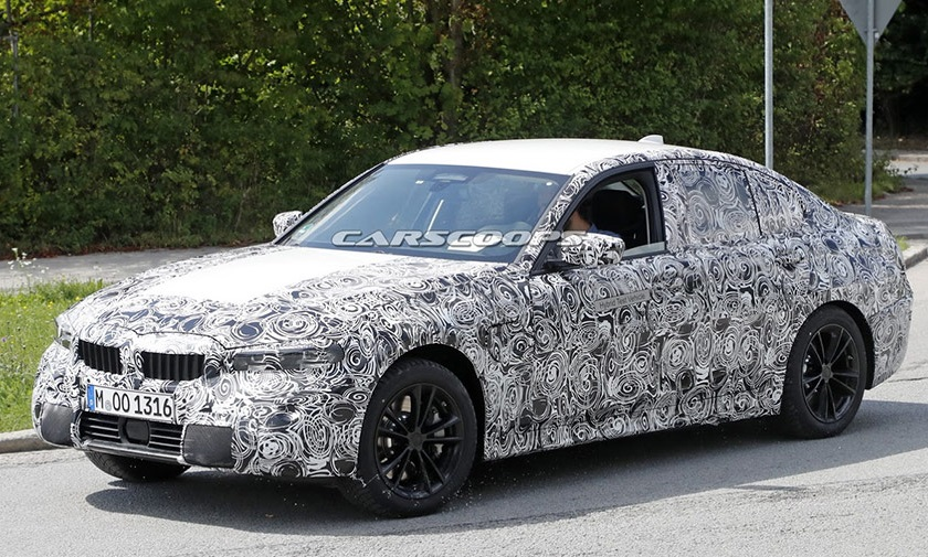 BMW тестує нову версію 3-Series