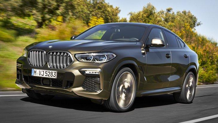 BMW офіційно представила позашляховик X6 третього покоління
