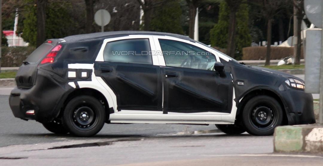 Fiat Bravo нового покоління вперше помічений на тестах