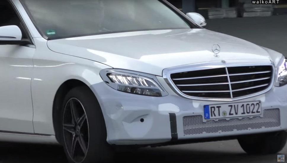 Mercedes-Benz C-Class 2018: перше відео