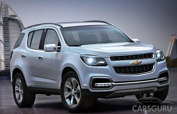 Почалося виробництво нового Chevrolet Trailblazer