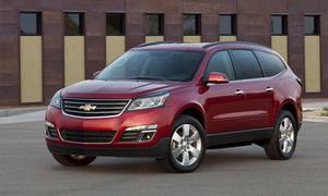 Chevrolet розсекретив оновлений Traverse