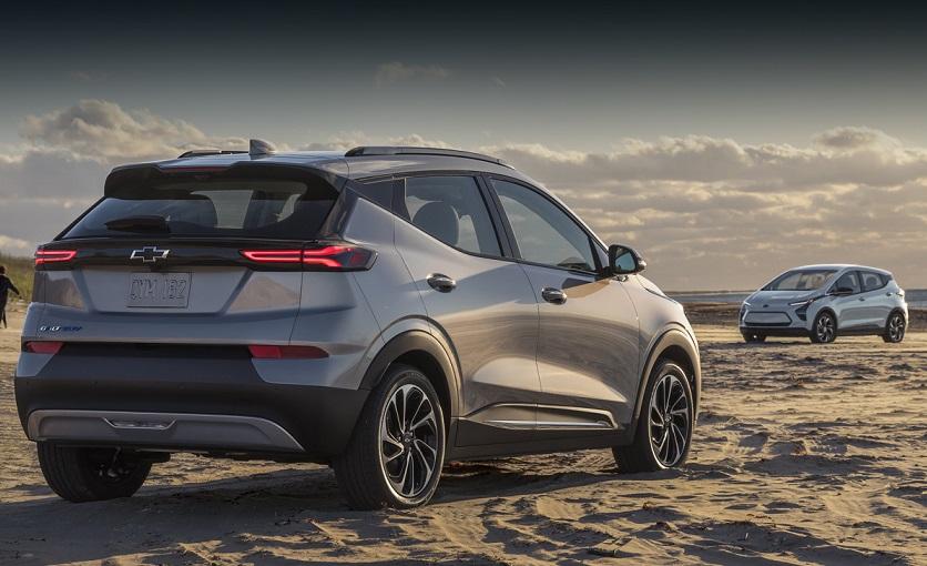 Електрокари Chevrolet Bolt і Bolt EUV 2022 року: фото та технічна інформація