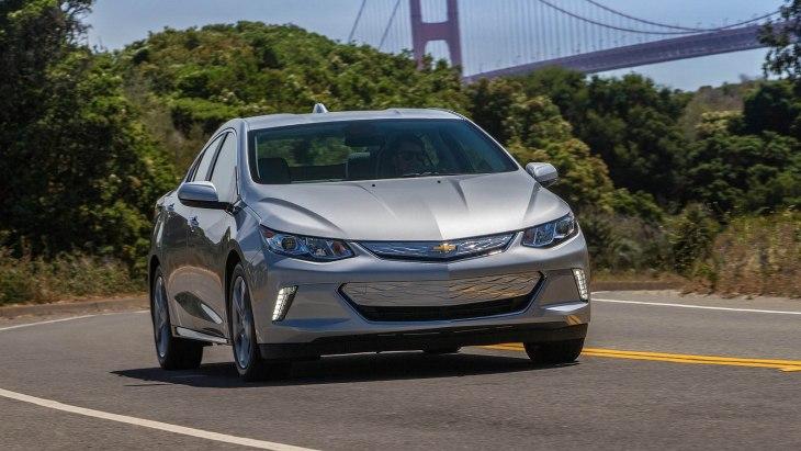 Chevrolet відмовиться від гібрида Volt