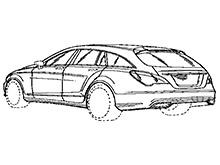 Mercedes запатентував дизайн нового універсалe